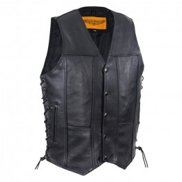 Ten Pocket Motorcycle Vest