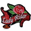 Lady Rider Patch 3W X 2H