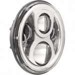 "J.W.Speaker 7"" Evolution 2 LED Headlight (Chrome)"