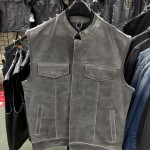Size 44 Distressed Grey Club Vest - CLEARANCE