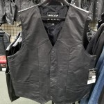 Size 48 Light-Weight Leather Vest by First Manufacturing - CLEARANCE