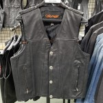 Size 57 and Size 42 Straight Bottom Buffalo Nickel Vest - CLEARANCE