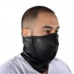 Leather Biker Face Mask
