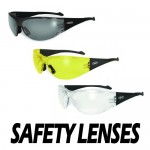 Full Throttle - Shatterproof UV400 Scratch Resistant ANSI by Global Vision
