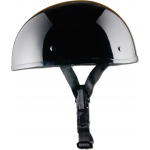 Smallest DOT Helmet - Gloss Black - NO MORE MUSHROOM HEAD!