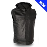 Gun Pocket Vest with Zip-Out Hood - GUN520