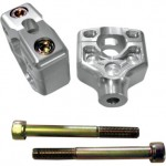 Joker Anodized Riser Clamp Assembly (2 Inch Rise)