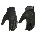 Womens Textile / Synthetic Leather Gloves - DS35BK