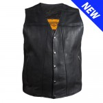 Ultra Premium Naked Vest with Concealed Carry Pockets (LU8323NK)