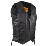 Ten Pocket Vest with Zipper Front - MV4-310SS