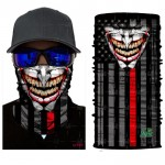 Thin Red Line Face Mask / Tube - FM-THINRED1
