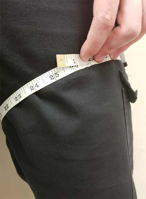 Measure Thigh Size
